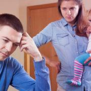 A Chegada de um bebê e brigas