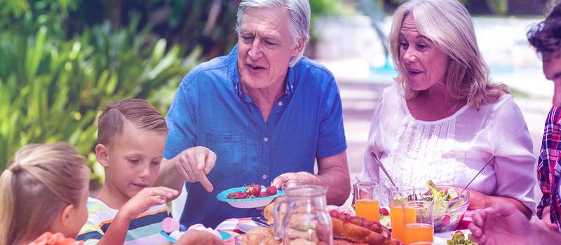 Importância da presença familiar na terceira idade